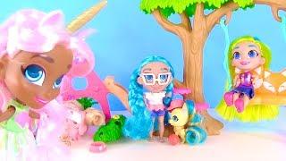 куклы с прическами HAIRDORABLES и Русалки Шопкинс в мультике для детей! Видео для детей