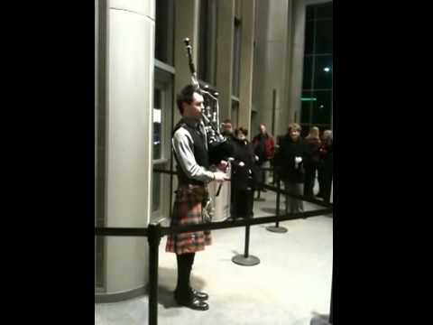 Anthony Byrne - Bagpiper from Celtic Woman