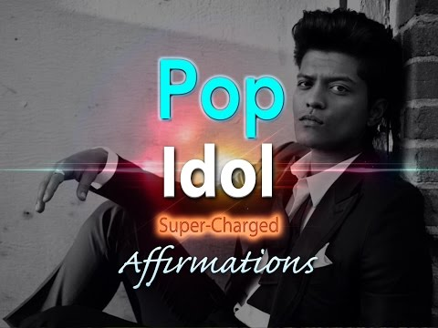 Pop Idol - Pop Superstar - MALE Lead - with Uplifting Music - Super-Charged Affirmations