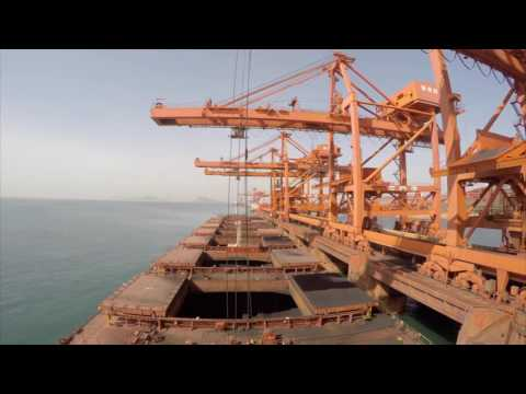 Time-lapse of a cape size bulk carriers Voyage.