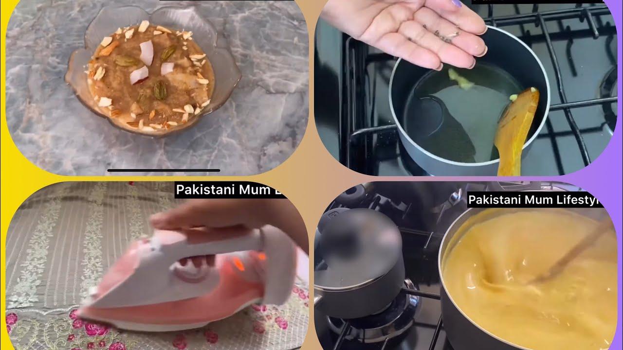 A beautiful day in my life|Karhi pakora full recipe| iron day| halwa full recipe|