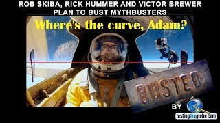 Rob Skiba, Rick Hummer & Victor Brewer Plan to Bust Mythbusters