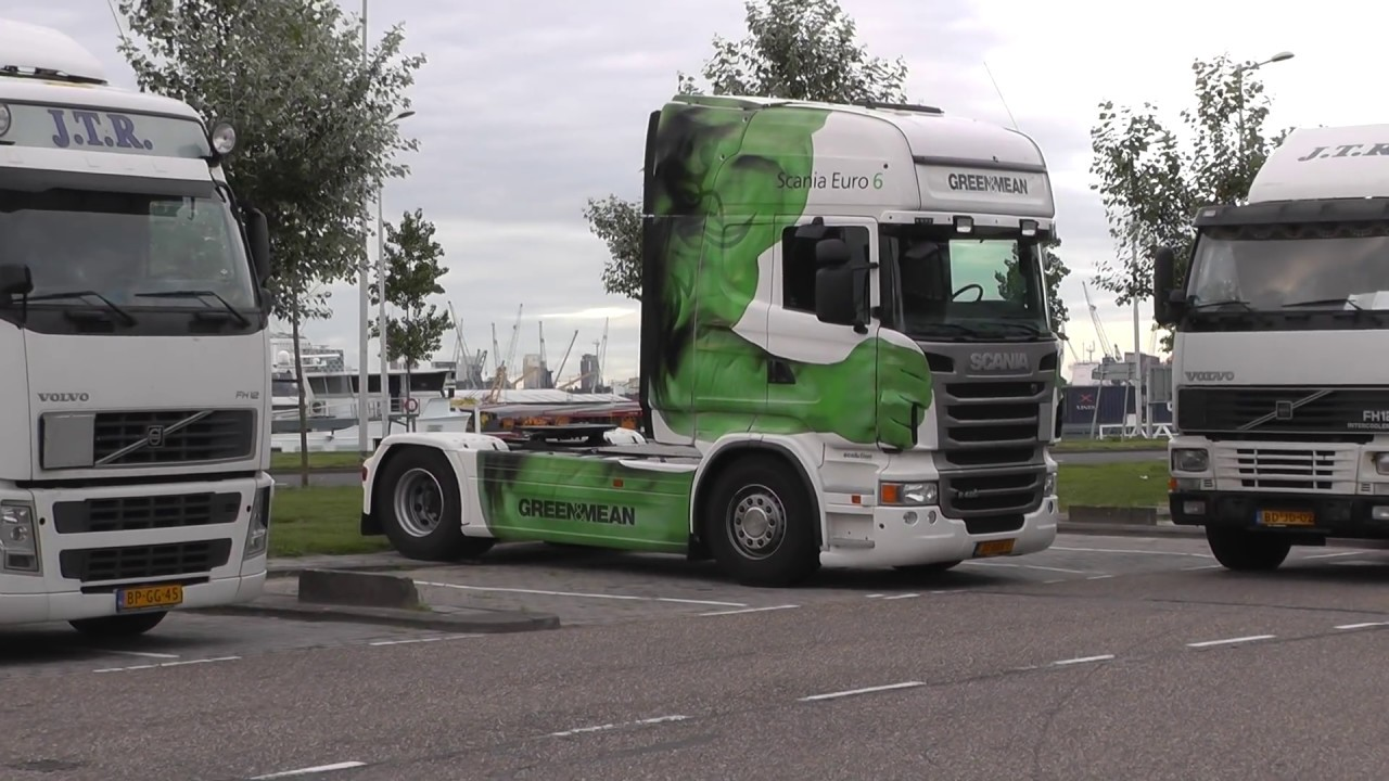 trucks, trucks, trucks, Waalhaven Rotterdam, 15 8 2013, part 4 of 4