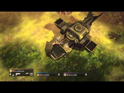 HELLDIVERS: Cyborg boss xp farm - YouTube