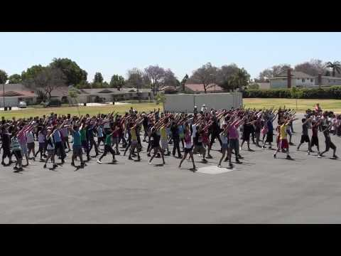 Cerritos Elementary School - Flash mob (June 6, 2012)