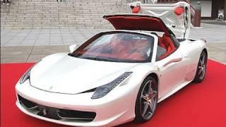 フェラーリ新型オープンカー「458スパイダー」=価格は3060万円 thumbnail