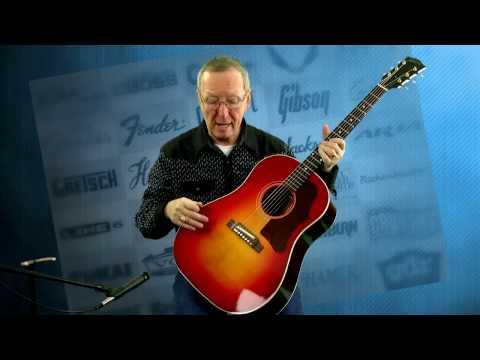 Acoustic Electric Guitar - Gibson Guitar 1960's J-45 Custom Shop 2016 Vintage Reissue - 515-864-6136