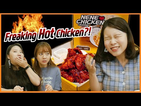 Koreans Taste Freaking Hot Korean Chicken In Malaysia? I Nene Chicken I Blimey