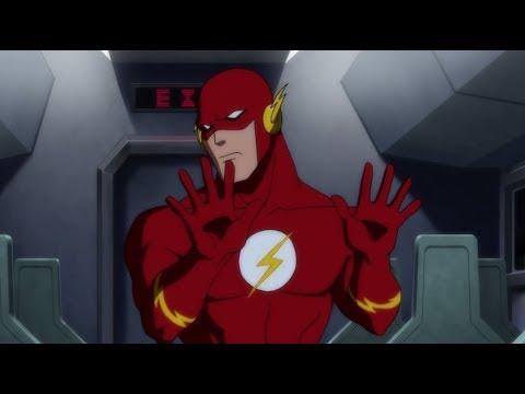 Мультфильм про флеша супергероя смотреть