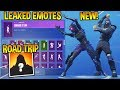 "*NEW* FORTNITE LEAKED ""ROAD TRIP"" SKIN + EMOTES..!! (Shake it up, Fancy Feet, Capoeira...)"