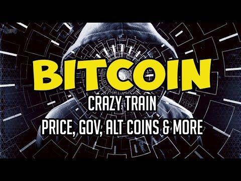 Bitcoin Crazy Train - Price Action, Alt Coins, Politics And More.