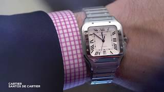 A closer look at the latest Cartier Santos de Cartier