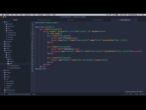 Cara Crud Laravel 5.5