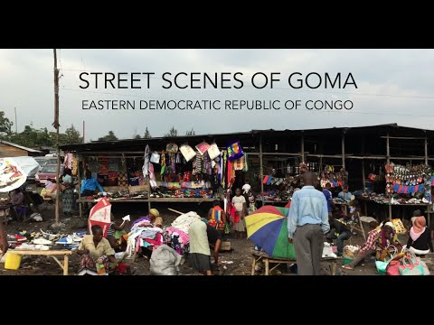 Street scenes of Goma, Democratic Republic of Congo