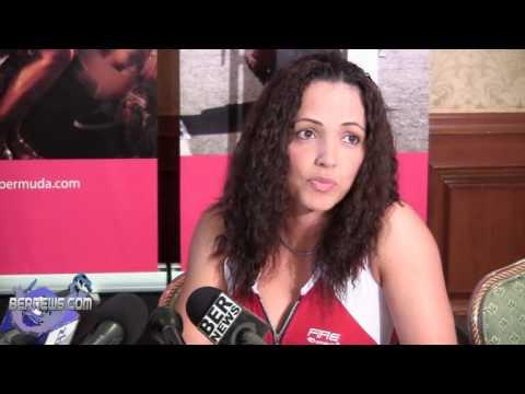"Jennifer ""The Bolivian Queen"" Salinas Before Fight, Oct 11 2012"