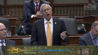 Fedeli calls out cabinet for hiding $4B in hydro costs, Oct. 18, 2017