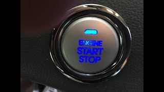 Hyundai Sonata push button won