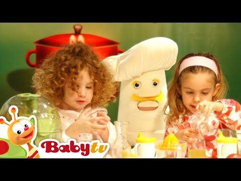 Kids Cooking - 1 hour of full length episodes of Baby Chef