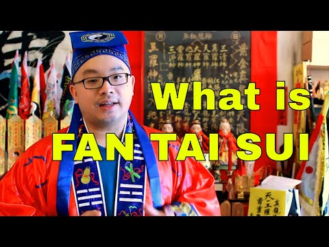 What is Fan Tai Sui  犯太歳 - Taoist Master Explained