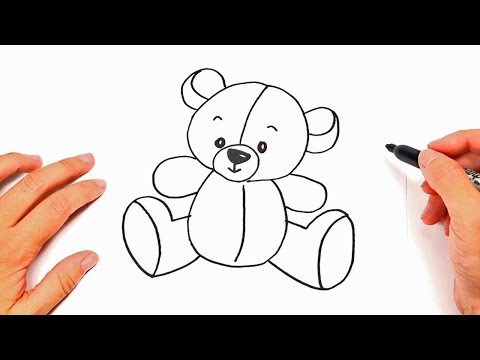 How To Draw A Teddy Bear Step By Step | Drawings Tutorials