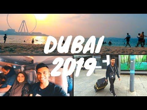 DUBAI VLOG 2019 | Jumeirah Beach | Travel Vlog | Pt 1