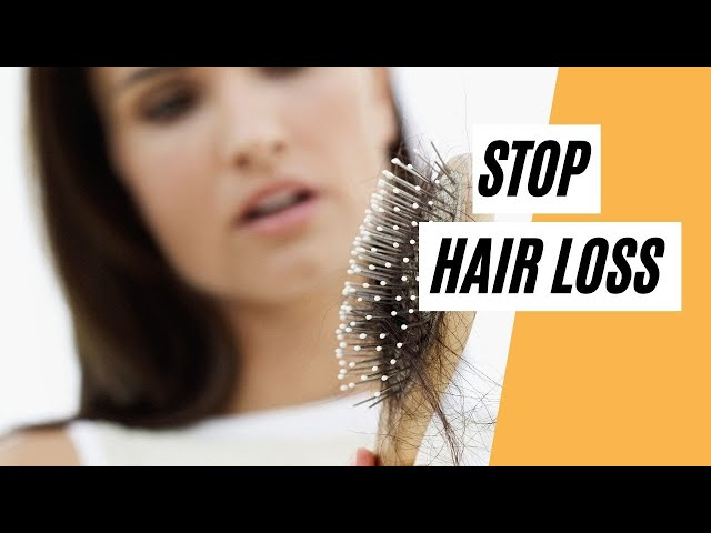 How To Stop Hair Loss? (Healthy Tips)