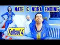Fallout 4 NATE NORA SURVIVE DESTROY THE INSTITUTE TOGETHER Nora Mod Meets Dying Father mp3