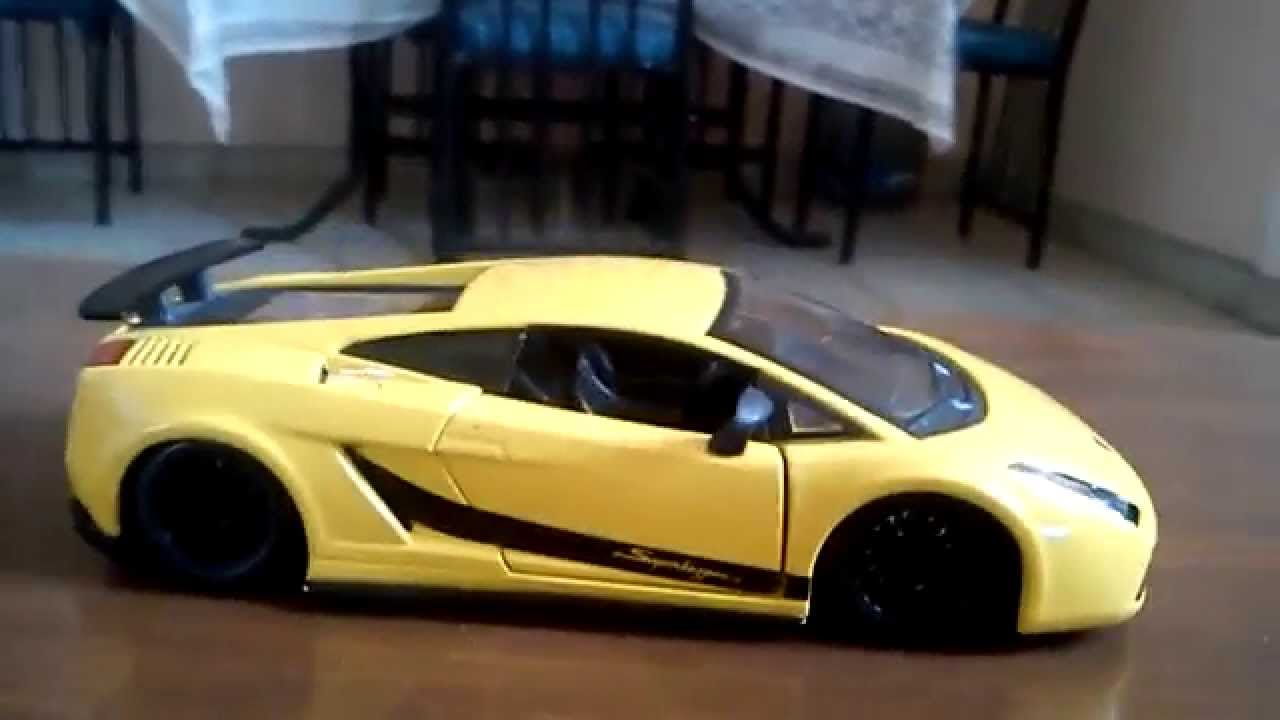 lamborghini gallardo superleggera a escala 1/24 - youtube