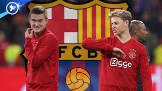 Matthijs de Ligt voudrait rejoindre Frenkie de Jong au Barça | Revue de presse