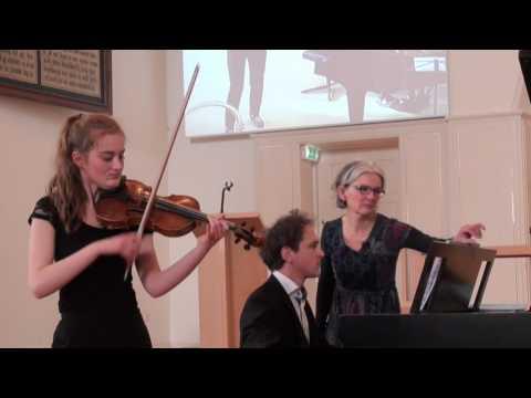 Noa Wildschut & Yoram Ish-Hurwitz play Doinâ by Dove Seltzer