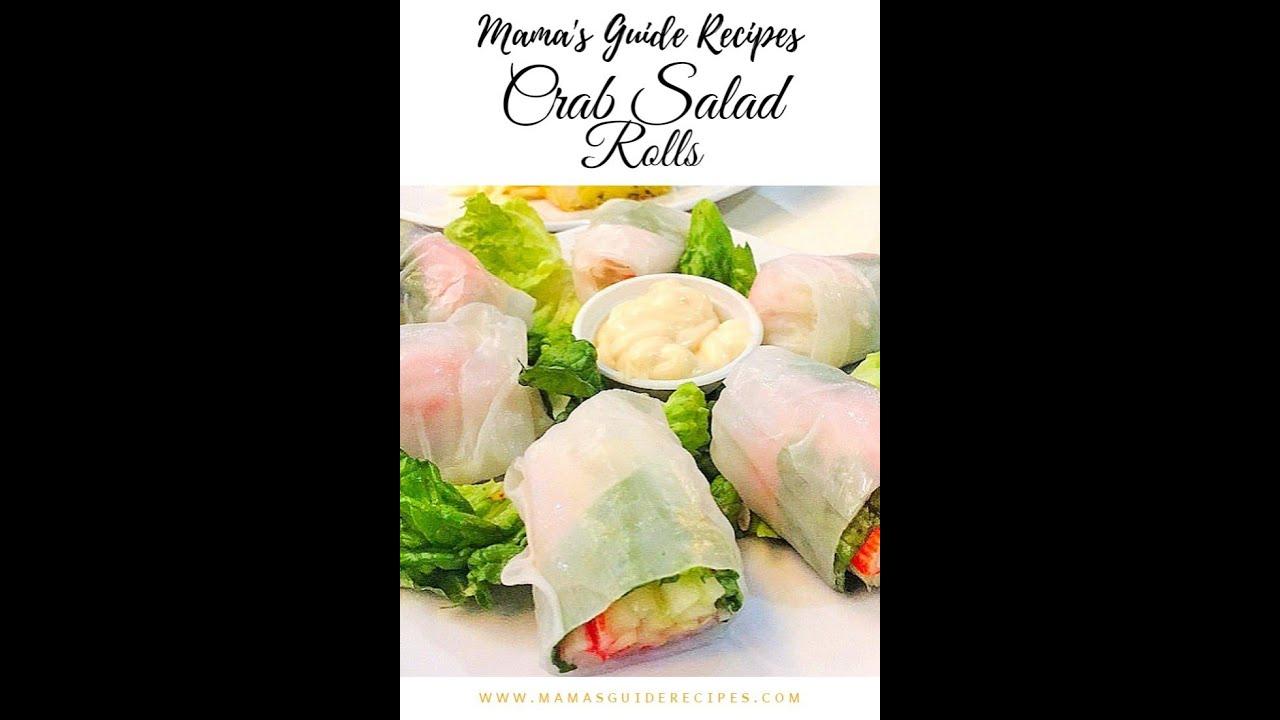 Crab Salad Roll Recipe Pizza Hut