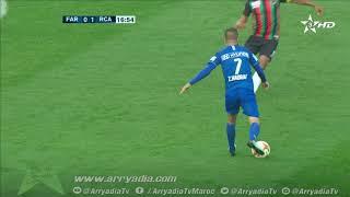 #بطولة_إتصالات_المغرب|د.19| الجيش الملكي 0-1 الرجاء الرياضي هدف محسن ياجور  في الدقيقة 16.