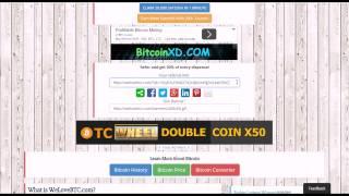 Бесплатные Биткоины Заработать Bitcoin WeLoveBTC видео обзор биткоин крана!
