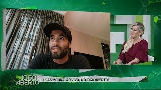 Estou vivendo um sonho, diz Lucas após hat-trick na Champions