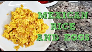 Mexican Rice and Eggs Scramble   Leftover Rice Recipe   Simply Mama Cooks