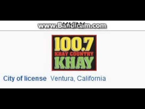 KHAY 100.7 K-HAY Ventura, CA TOTH ID at Noon 6/28/2014