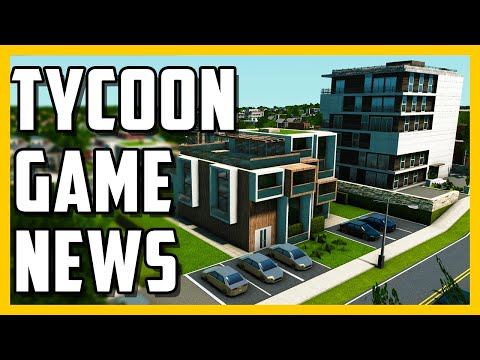 Tycoon Management Game News and Updates - Monthly Tycoon Game News