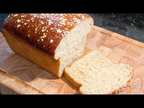 Honey and oatmeal bread