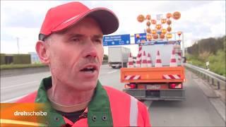 LEBENSGEFAHR!!! Den Arbeitern der Autobahnmeistereien gehört unser Respekt!