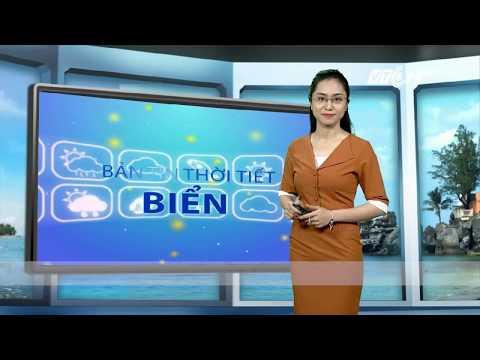 VTC14 | Thời tiết biển 19/09/2017| Cà Mau, Kiên Giang, Nam biển Đông có mưa dông gió giật