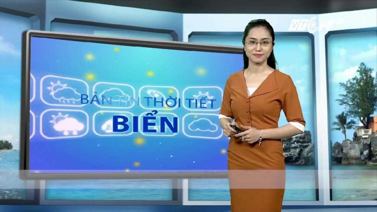 VTC14 | Thời tiết biển 19/09/2017| Cà Mau, Kiên Giang, Nam biển Đông có mưa dông gió giật | Thông tin thời tiết hôm nay và ngày mai