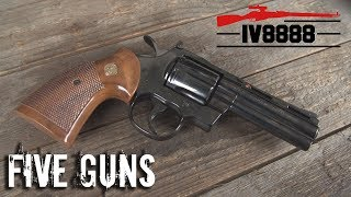Top 5 Guns We Wish Were Still Made