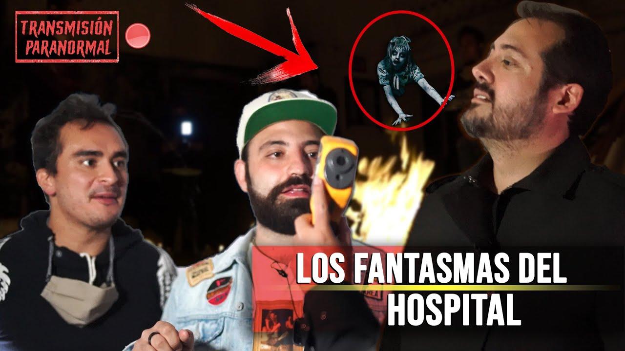 Los fantasmas del hospital!!!