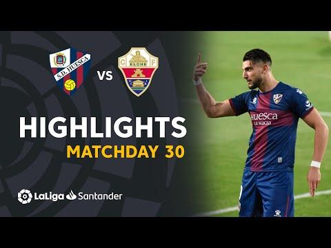 Highlights SD Huesca vs Elche CF (3-1)