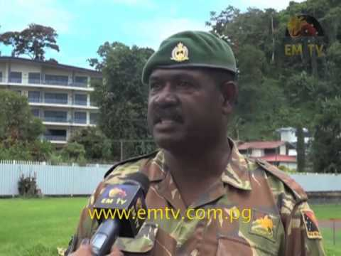 PNG Defence Force in Lae Prepares for Independence Celebrations