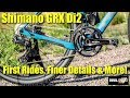 Shimano GRX Di2 - First Rides, Finer Details & More! - The First Dedicated Gravel Groupset