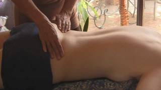 Back Massage Therapy How to: Low Back Pain Relief Treatment, Cranio-Sacral Techniques