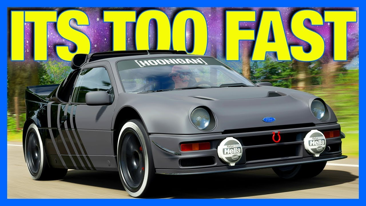 Forza Horizon 4 : This Car Is CRAZY Fast!! (FH4 Hoonigan RS200) thumbnail