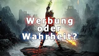 Werbung oder Wahrheit: Dragon Age: Inquisition - Die Werbeversprechen von EA auf dem Prüfstand