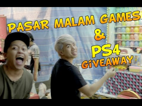 PASAR MALAM GAMES (PS4 SLIM GIVEAWAY)